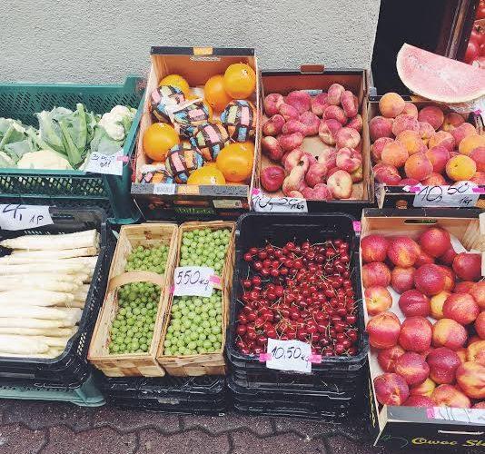 Targ owoców