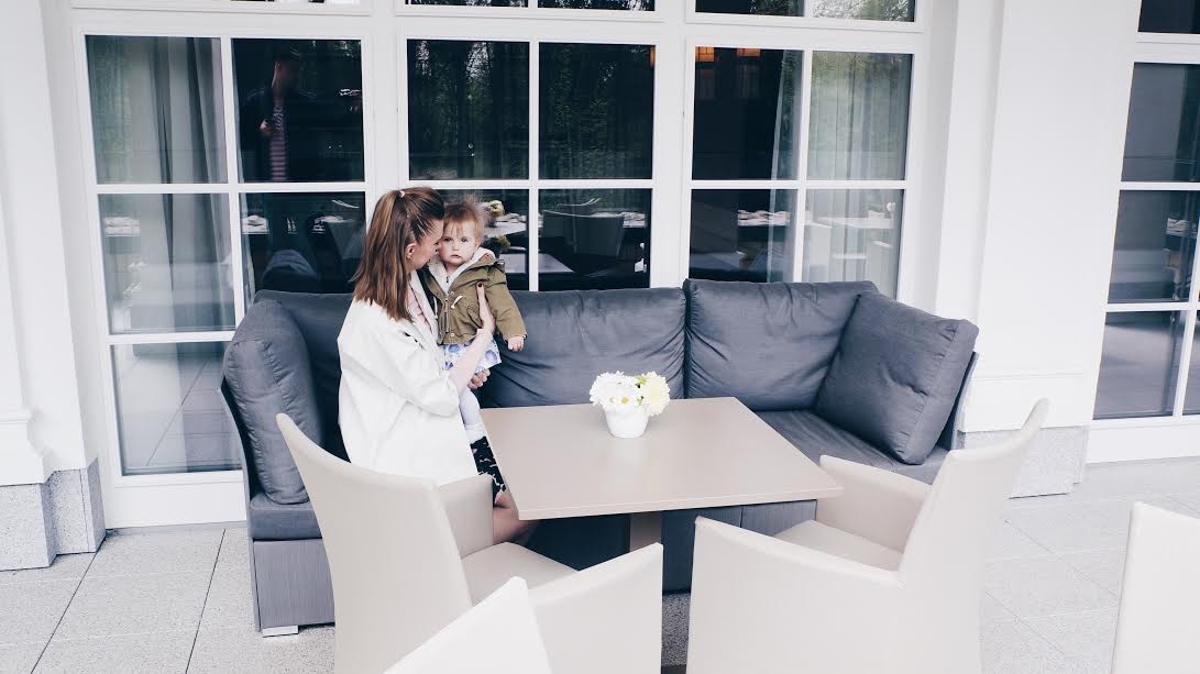 Taras kawiarni Hotelu SPA dr Irena Eris Polanica Zdrój