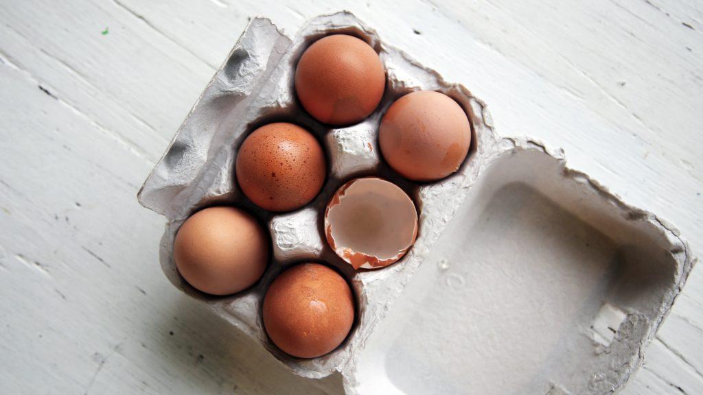 jajka w diecie niemowlaka